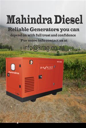 20kva Mahindra Silent Diesel Generator