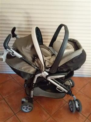 Pram and Car chair for sale