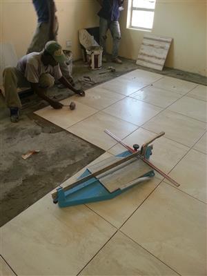 Tiler/ Tiling, Laminated Flooring, Plastering, Painting, Paving, Skimming, Cladding etc