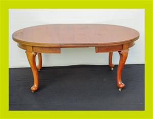 Victorian Mahogany Extending Dining Table - SKU 635
