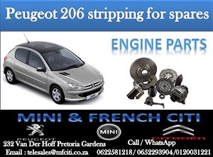 Engine parts On Big Special for Peugeot 206