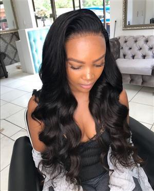 Brazilian Peruvian & Malaysian Hair Lace Wigs