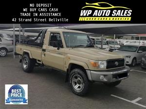 2012 Toyota Land Cruiser 79 single cab LAND CRUISER 79 4.0P P/U S/C