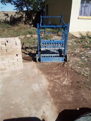 Block brick making machine