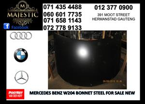 Mercedes benz w204 steel bonnet for sale