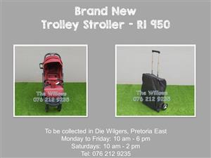 Brand New Trolley Stroller - Red