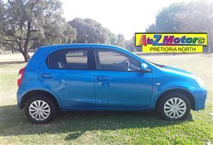 2015 Toyota Etios hatch 1.5 Xs