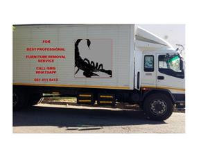 Solution for the best domestic and office furniture removal service countrywide 24/7/365. Not for sale. Read ad first before calling