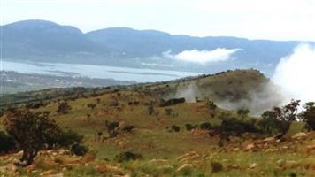 Hartbeespoortdam. Rocky Top Hiking trail. Beautiful views of Hartbeespoortdam.