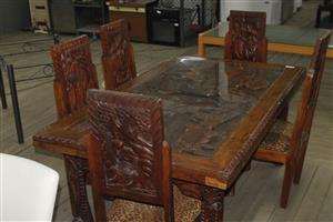6 piece dining room set S036960A #Rosettenvillepawnshop