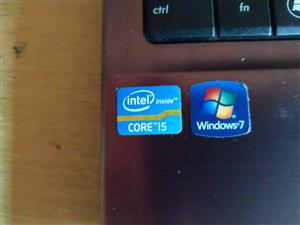 Asus laptop Intel core tm i5 windows 7