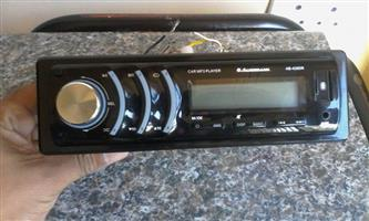 Audiobank USB/SD card player with aux and remote