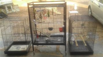 3x BIG PARROT CAGES FOR SALE