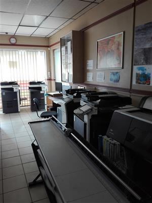 Printing and Internet Cafe for sale