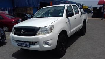 2009 Toyota Hilux 2.5D 4D double cab 4x4 SRX