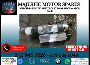 Mercedes benz W172 hydraulic boot pump for sale