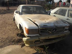 1978 Cars for Stripping Mercedes Benz