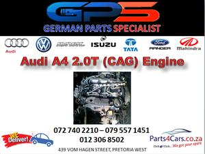 Audi A4 2.0T (CAG) Engine for Sale