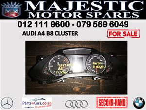Audi A4 B8 speedometer cluster for sale