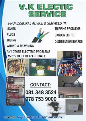 V.K ELECTRIC SERVICE
