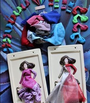 DOLLS: DRESS-ME-PLEASE DOLLS! The marketer to contact: Anza at 081 404 3930 / dressmeplease.anza@gmail.com