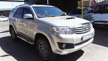 2013 Toyota Fortuner 3.0D 4D 4x4 Ltd edition auto