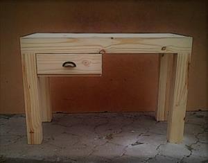 Study desk Chunky Farmhouse series 1200 Raw