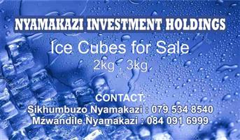 ICE Cubes for SALE