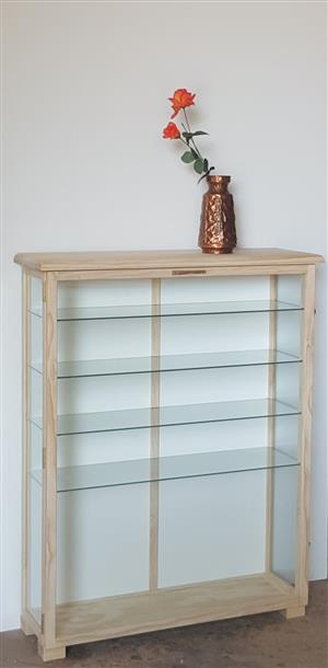 All-round Glass Units / Display Cabinets - Quality Custom made  for Collectibles and Models. - Dust Proof!