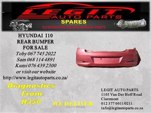 HYUNDAI I10 REAR BUMPER FOR SALE