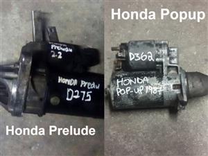 Honda starters for sale.
