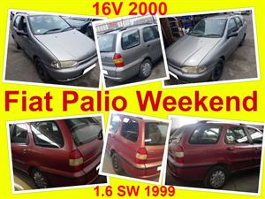 Fiat Palio Weekend stripping for spares