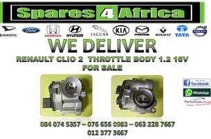 RENAULT CLIO 2 1.2 16V THROTTLE BODY FOR SALE