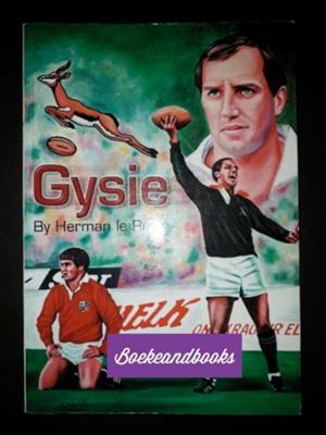 Gysie - Herman Le Roux - Signed - Rugby - Biography.