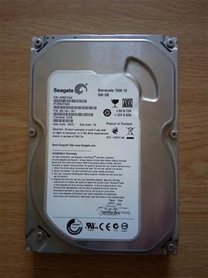 Seagate 500 GB 3.5 inch 7200 r.p.m SATA hard-drive