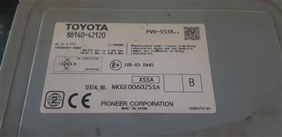 2012/2015 Toyota Rav4 Radio