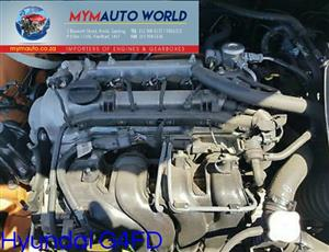Imported used  HYUNDAI 1.6 GDI GAMMA, G4FD,  Complete second hand used engine
