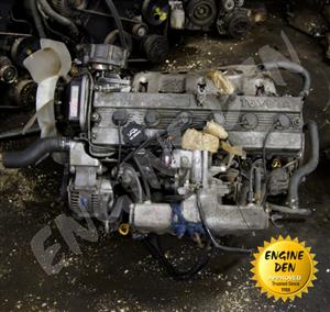 TOYOTA CRESSIDA 2.0L  GLi6	1G USED ENGINE