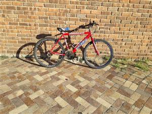 Raleigh 26 inch mountain bicycle