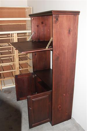 Wooden Wall Unit / Cupboard