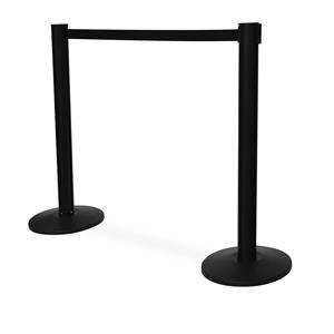 Queue Stands Black P
