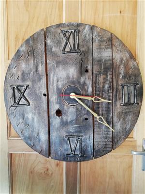 Home made clock