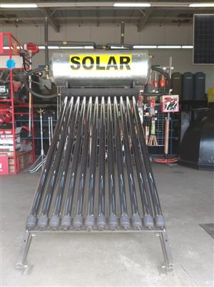 Solar Geysers Rent to own