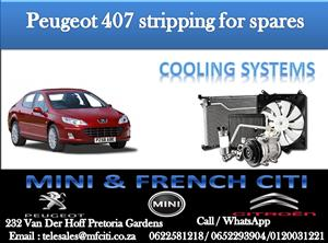 Wide Variety of Peugeot 407  Cooling systems for sale contact us today and get great deals!!!