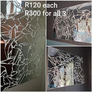 Shattered mirrors for sale