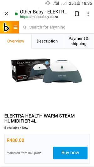 Elektra  Air Humidifier