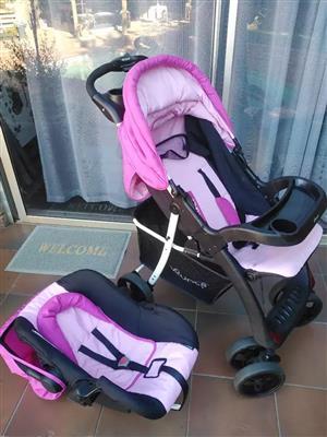 Pink Baby Pram, used for sale  Kempton Park