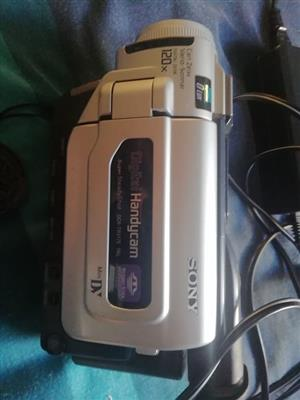 Sony vedio camera for sale