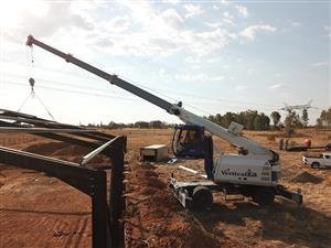 VerticalZA Mobile Crane SENNEBOGEN 643 M – 30m  40 tons