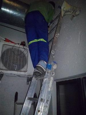 Geyser, aircon repair and installation